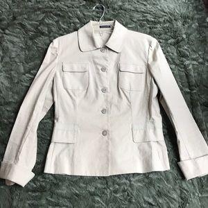 Tahari Linen/Cotton Blazer - size S/P